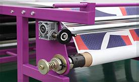 滚筒印花机收纸器