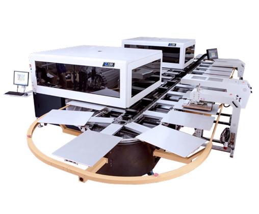 H6全自动椭圆形数码印花机