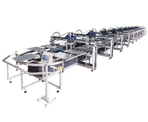 H8变频系列椭圆裁片印花机